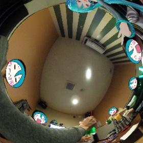 ミクさ〜ん……マジ天使! #miku360 #オホーツクボカロクラスタ #オフ会 #theta360
