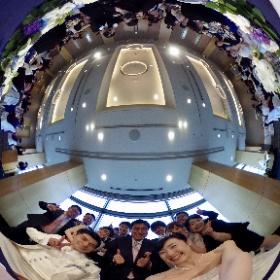 千佳ちゃん結婚式高砂でシータθ^_^θ #theta360