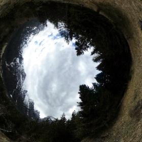 Da Stabenrigo Bass verso le Marmarole (dalla Croda di Somprade al Corno del Doge con Val di San Vito) #theta360 #theta360it