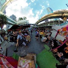 New news day carnival at Bts Chidlom Bangkok
