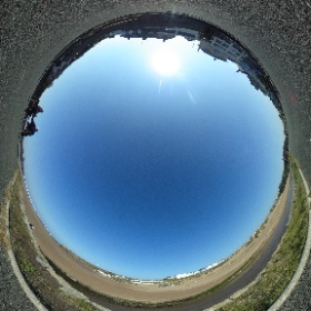 Summerleaze Beach, Bude this afternoon! What a fantastic day for another trial of our new toy, the 360 degree camera!