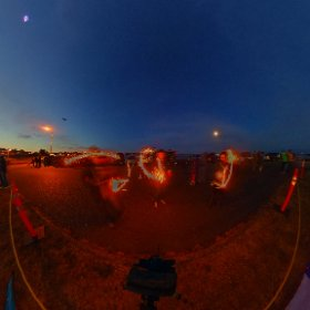 Kite festival  -light up event.  360 image for VR viewing  slow shutter speed with sparklers and L.e.d. kites.   Www.ThisIsMeInVR.com  #theta360