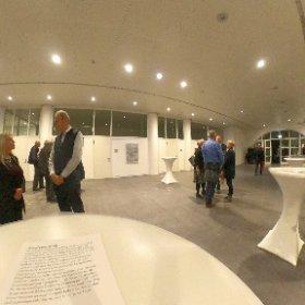 Vernissage im Haus der Wirtschaft in Stuttgart. Grandiose 420qm Ausstellungsfläche. Die Ausstellung läuft noch bis Weihnachten 🌼💝 #theta360 #theta360de