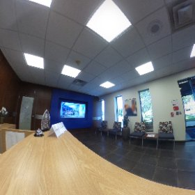 Here is a virtual view of our new lobby space.