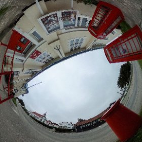 The very British Stanley post office in the Falkland Islands. #theta360