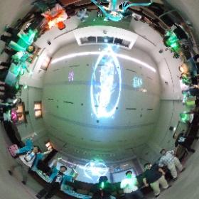 #ミクロジ のスタッフさんとファンの皆様と。新潟のファンメイドライブは盛況にて終了しました! #miku360  #theta360