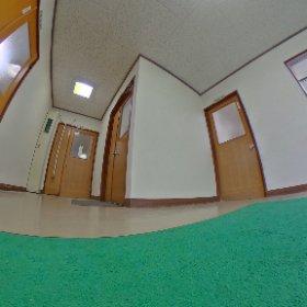 玄関が美しくなりました。 #theta360