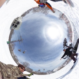 #snow3d #theta360
