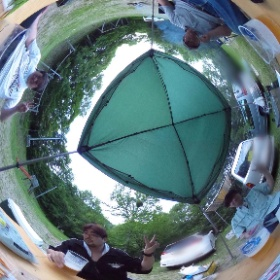 長野夏BBQキャンプ #theta360