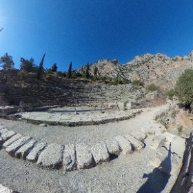 Delphi #greece #theta360