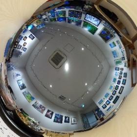 「武蔵小杉」にて、幻想的でファンタジーな作品展「モルフィウス」の様子です。 HP→ http://www.seasunhp.net/morphius.html  #theta360
