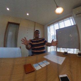 本日は取材デー!今回は茅ヶ崎の松尾建設代表の青木さんにお話伺いました。 http://www.matsuokensetsu.co.jp #theta360