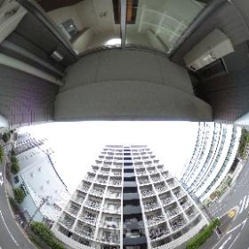 プレール・ドゥーク東京ベイⅢ 4F 1K 22.19㎡ #theta360