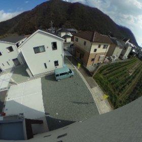 屋上左眺望 #theta360