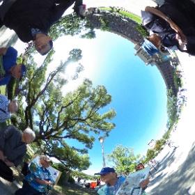 大阪城:天守閣前広場 #ufo3d