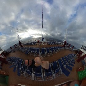 Another morning at sea. It never gets old 😊 #theta360