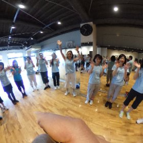 BeFree Dance 9周年 おめでとうございます㊗️ #theta360
