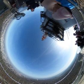 #Fernsehturm #Stuttgart #TV Tower # Degerloch #Bopser #theta360 #theta360de