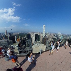Top of the Rock - Manhattan - New York #theta360