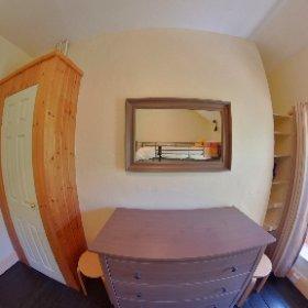 Station Master's House Twin Bedroom Room  #theta360 #theta360uk