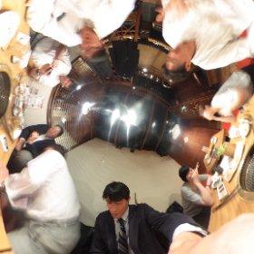大荒れのA氏〜 #theta360