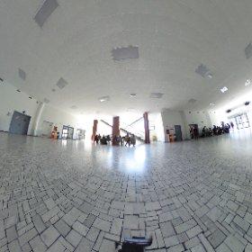 #POLIMI Salone edificio Trifoglio Architetto Giò Ponti #theta360it