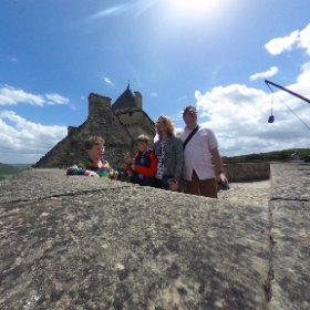 Family portrait with catapult. #theta360