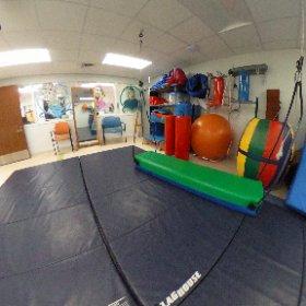 Outpatient #pediatric #rehabilitation gym. #theta360