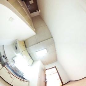 高橋ビル303号室 キッチン(市川市行徳駅前2-22-2) 1K(22.80㎡) 行徳駅の不動産会社 賃貸のお部屋探しは株式会社さくらエステート #theta360