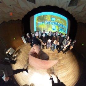 Nochmal alle Preisträger auf der Bühne von #ffs15 #fwk15