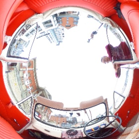 Morris Minor converstable. #theta360
