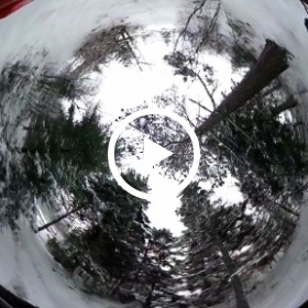 Snow removal part #2 Ricoh Theta video #theta360