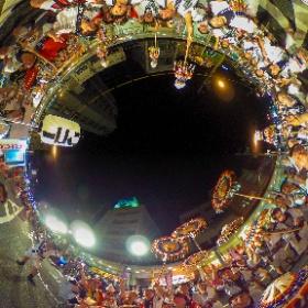 鳥取しゃんしゃん祭 RICOH THETAで鳥取リコーさんを激写!!!(^^V  #しゃんしゃん #tottori #鳥取 #VR #VR360 #theta360