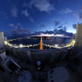 北海道室蘭市 白鳥大橋主塔より 2020.12.9撮影