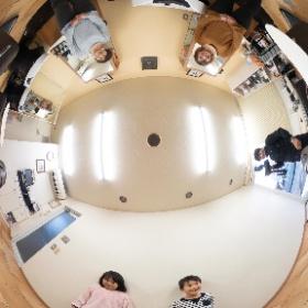 愛媛県新居浜市、美容室クリップ様の撮影 #theta360