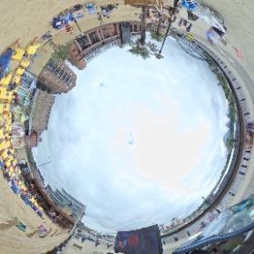 Disney on the 'beach' Newcastle uon Tyne  #theta360 #theta360uk