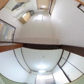 松山市松前町 メゾン萩 和室、キッチン 103101 #theta360
