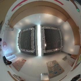 20170702-03 富士見市民文化会館キラリふじみサーカスバザール内、なりきりサーカスワークショップ 準備開始頃