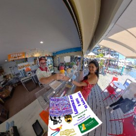 360 spherical Little Ferry Co Cafe & Ice Creamery swan river East boardwalk Barrack Street Jetty, SM hub https://linkfox.io/6QtCU BEST HASHTAGS  #LittleFerryCoCafeIceCreamery   #BarrackStJetty  #PerthCity  #VisitPerthWA   #Butterfly3d #theta360