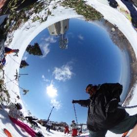 #野沢温泉スノボー 2 #snowcrystal3d #theta360