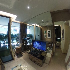 The Esse Asoke 1 Bedroom 37sq.m (Living Room 360° View)