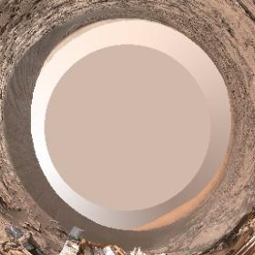 火星で現在活躍中のキュリオシティの公開されているパノラマ画像を360°で見れるように変換してみました。THETA恐ろしいくらい臨場感が出ますね!