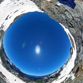 Verso la cima 1 Monte Thabor - Valle Stretta - Francia