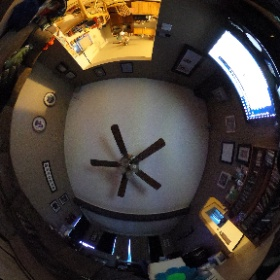 Testing out the new 360 camera! My living room! Tomorrow classroom. Hopefully figure out how to 360 stream for Graduation next month!