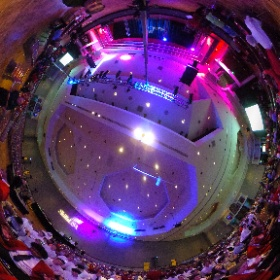 Getting ready for the show to start. @SkillsUSAnc #theta360