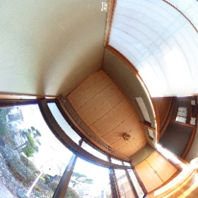 M-0214高山中古住宅690万円中古住宅 縁側内観360°写真です。  #高山村 #中古住宅 #不動産 #株式会社M&M・エコハウジング #theta360