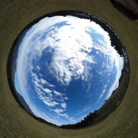 熊本の草原のところ #theta360