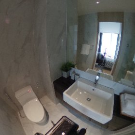 Noble BE19 Sukhumvit 1 Bedroom 34.96 sq.m (Bathroom 360° View)