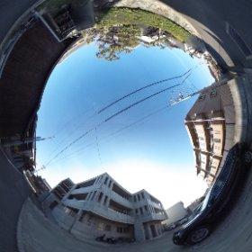 松山市のペット可賃貸、BOWマンションの敷地北東