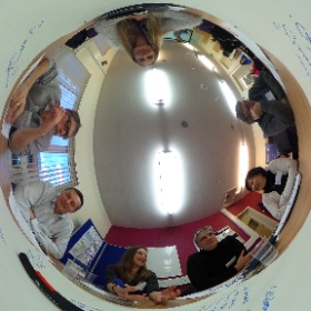 Workshopping at the @openuniversity at #ouarc16 #theta360